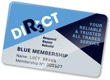 Membership card graphic